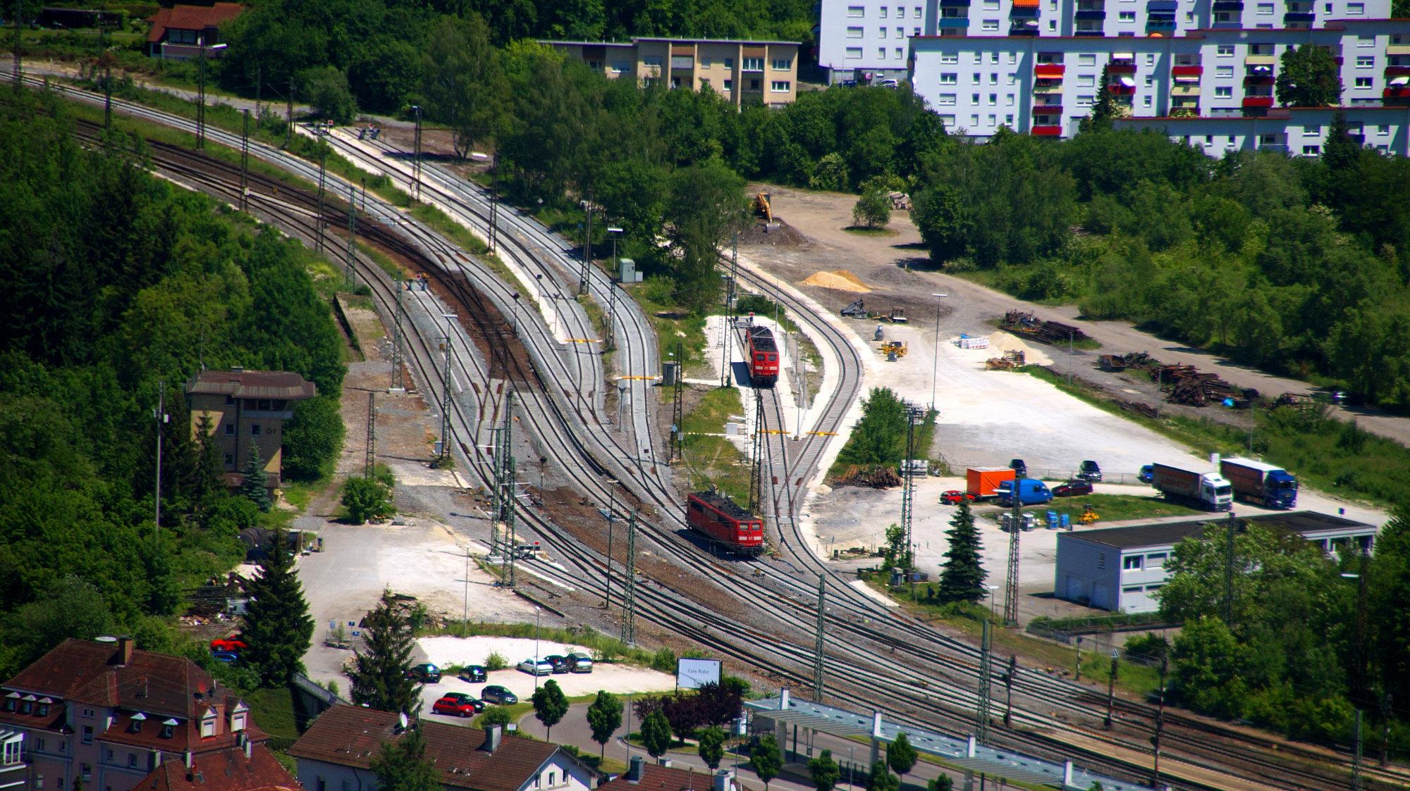 Bahnhof Geislingen