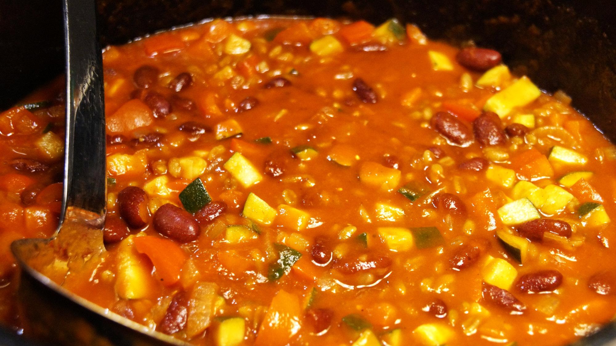 Chili mit Grünkern