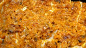 Gelbe Rüben Frischkäse Lasagne
