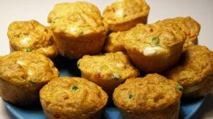 Gemüse Muffin