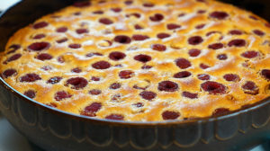 Himbeer Clafoutis