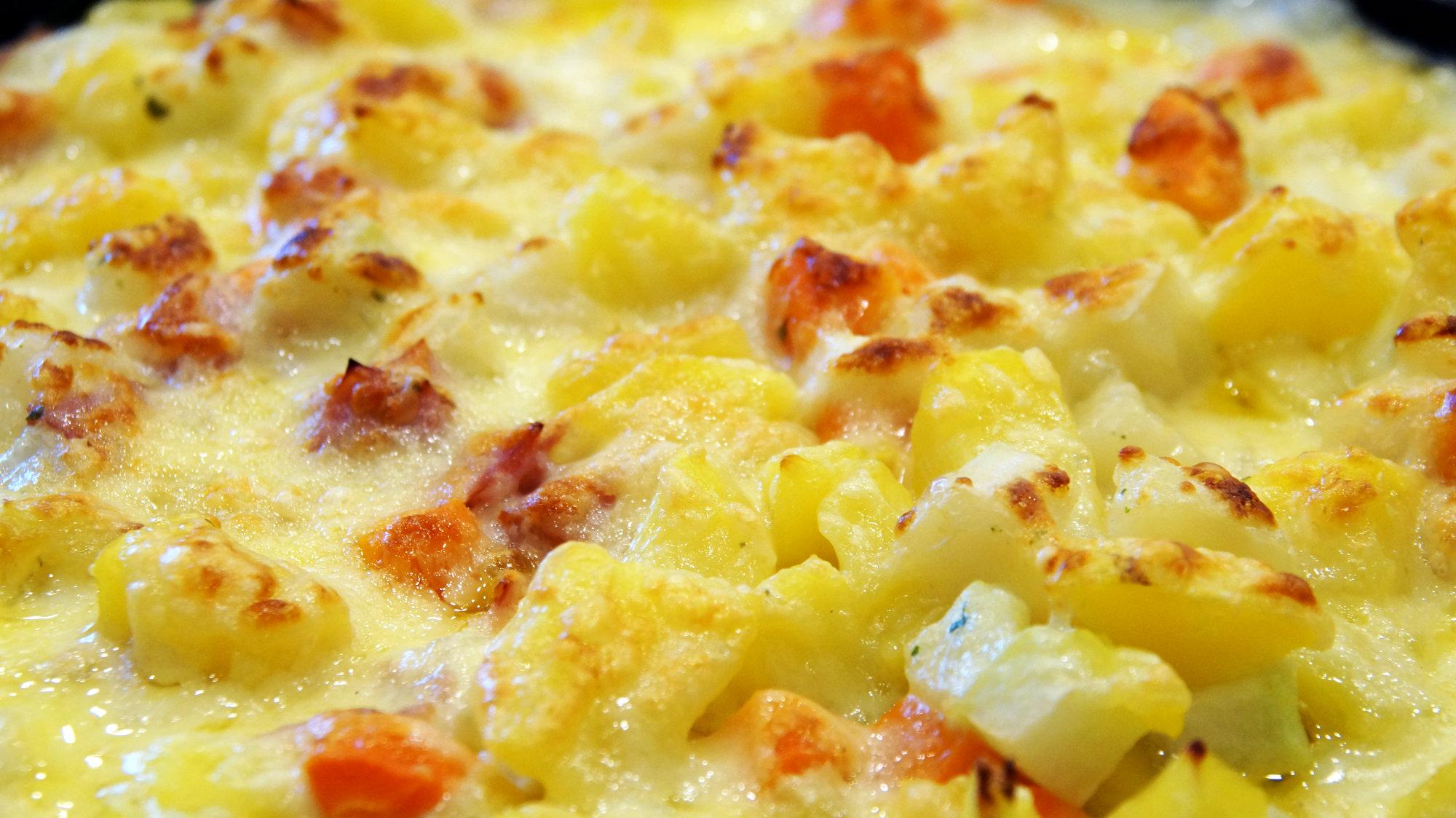 Kohlrabi Kartoffel Auflauf