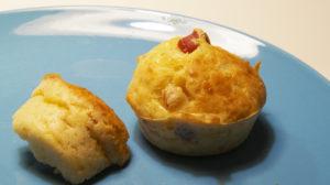 Muffin Käse Schinken