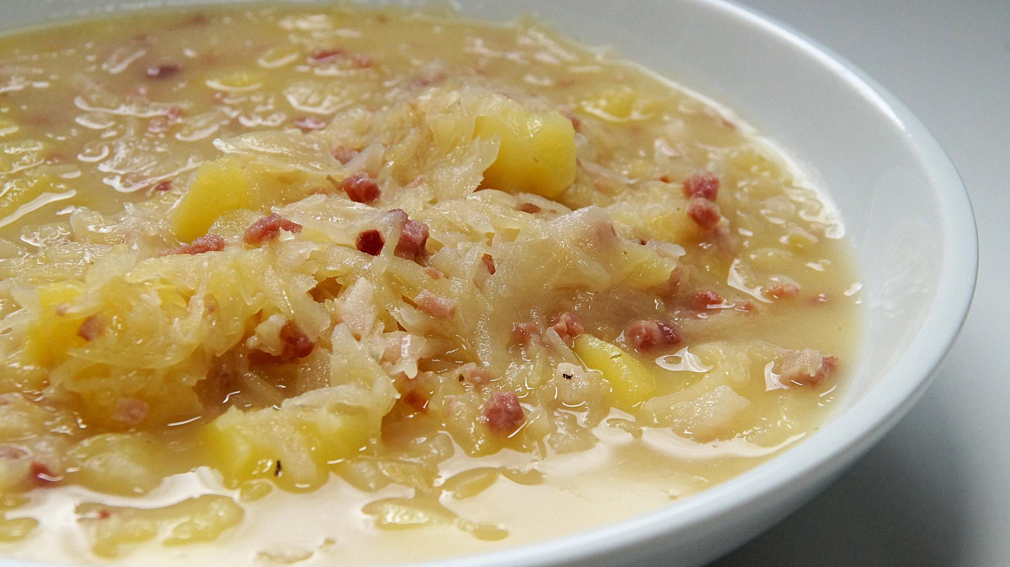 Sauerkraut Kartoffel Eintopf