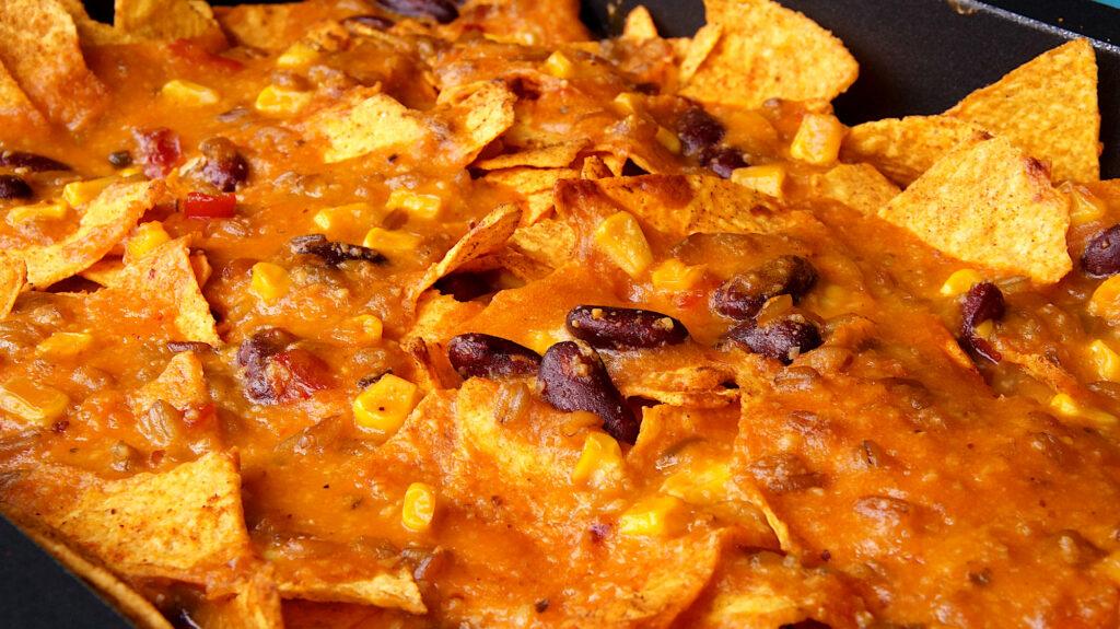 Tortilla Chips Auflauf vegan