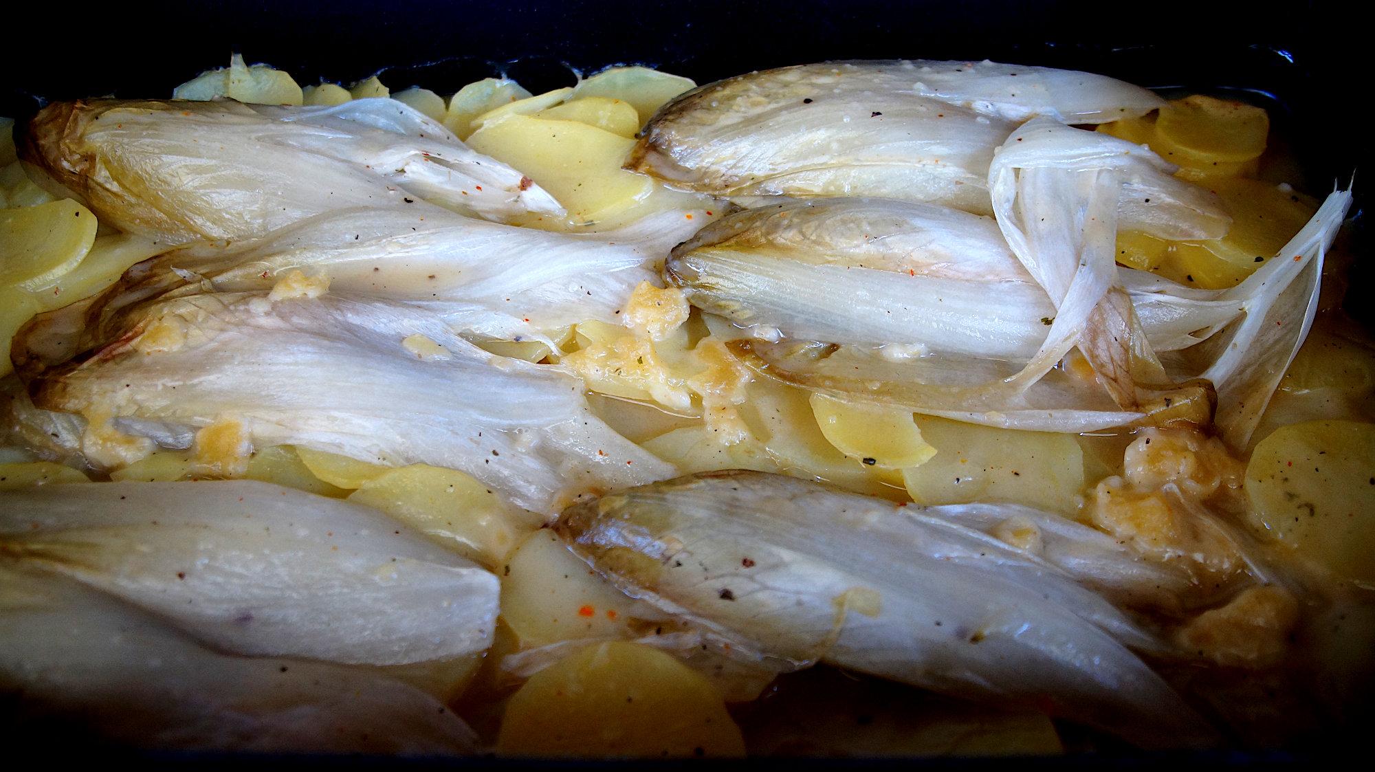 Chicorée mit Kartoffel
